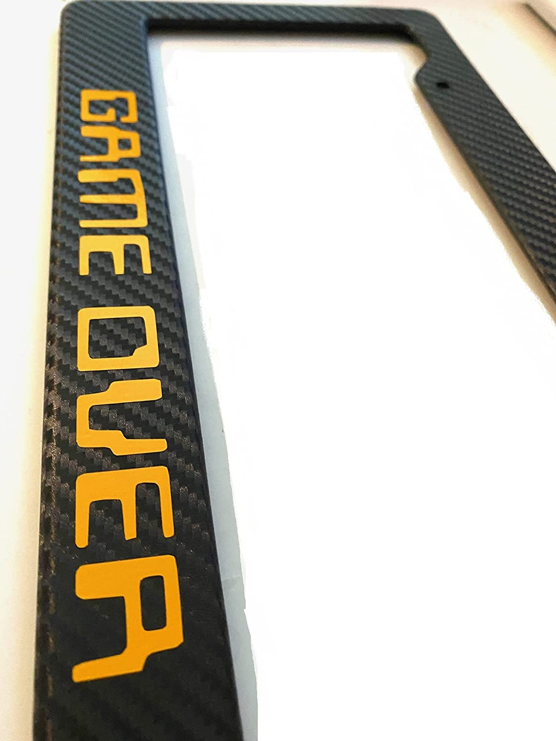 Game 5 Wholesale ☆ very popular Over 8Bit in Carbon Fiber Pl with License Yellow Automotive