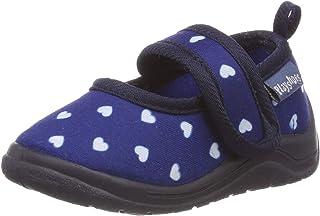 Playshoes Chaussons Cardiaque, Pantoufles Fille