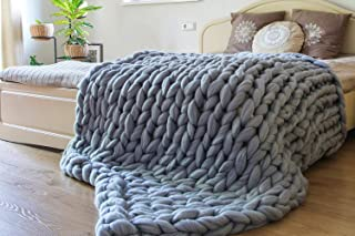 chunky knit baby blanket