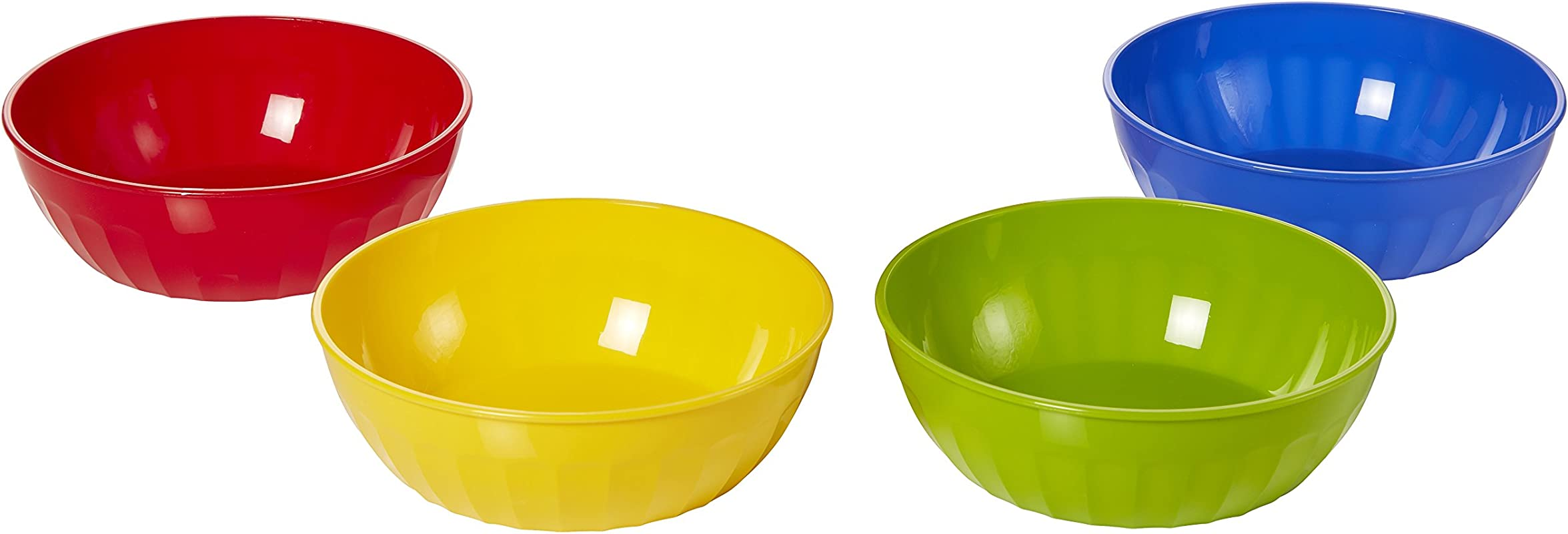 Arrow Home Products 29244 16 Ounce Bowls 16 Oz 4 Pack Assorted