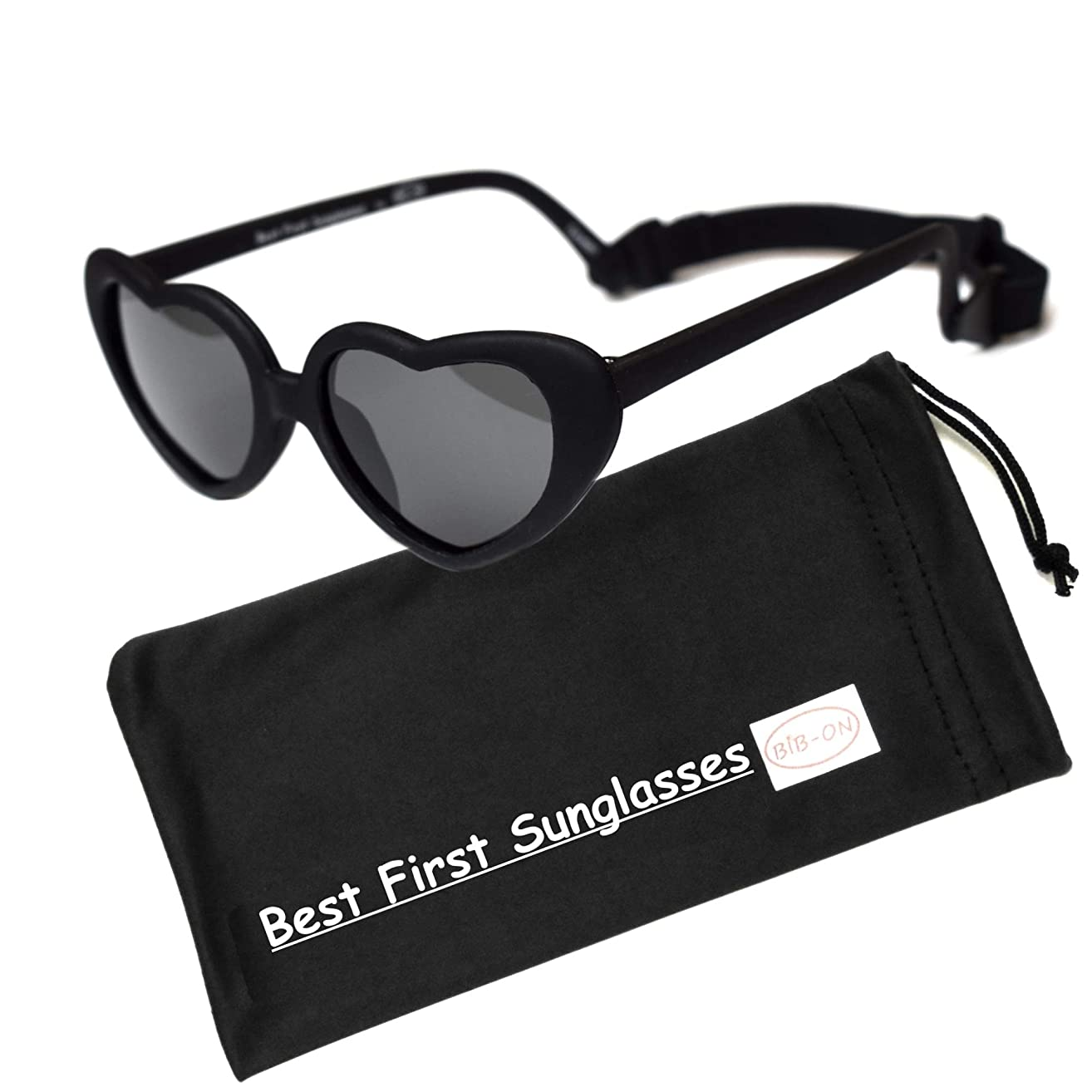Sweetheart- Best First Sunglasses for Infant, Baby, Toddler. 100% UV Protection. Many Colors and Sizes.