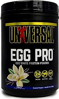 Universal Nutrition Egg Pro Pure Instantized Egg White Powder, Vanilla, 1 Lb