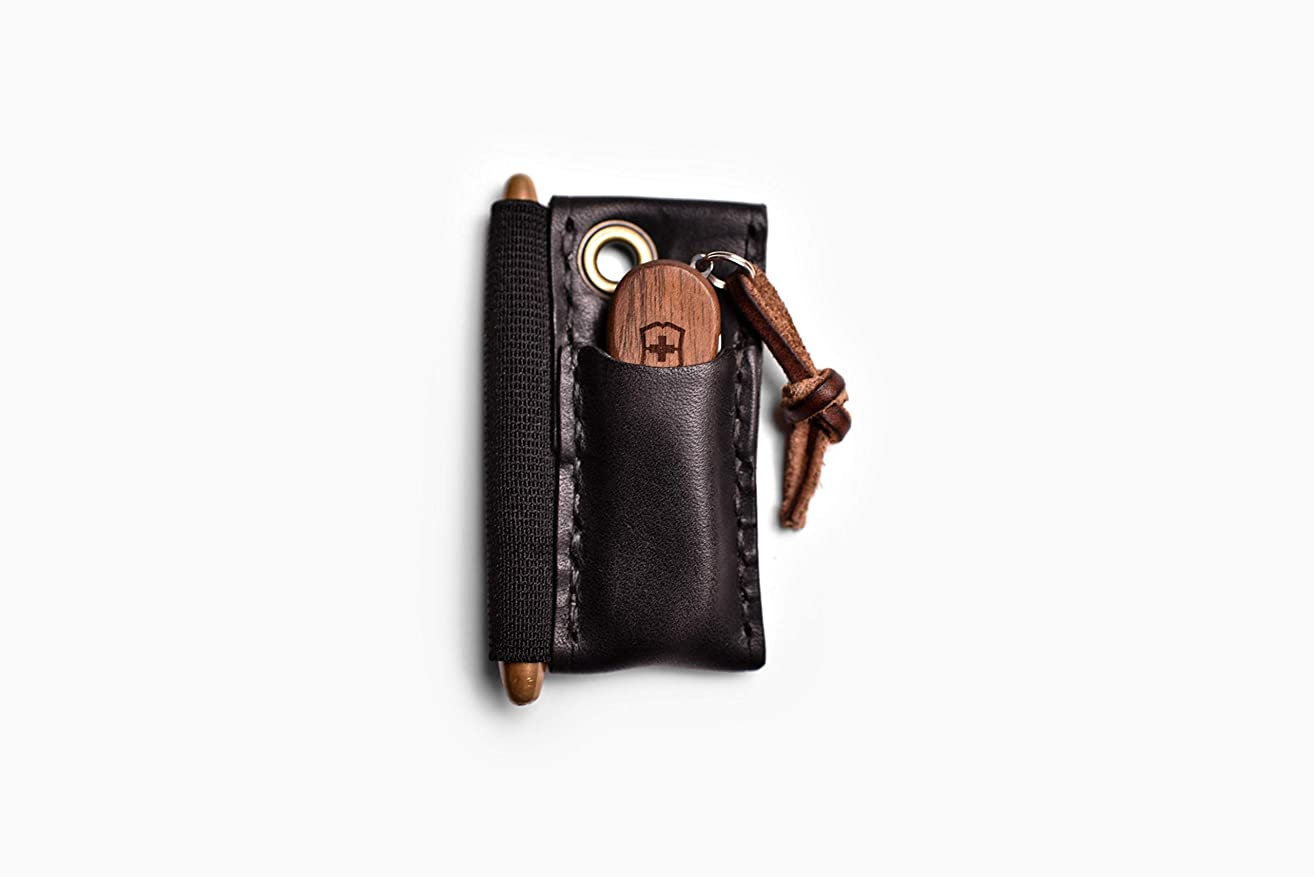 Micro Runt - Leather EDC Slip for Everyday Carry