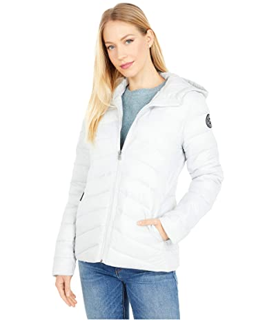 Roxy Coast Road Hooded Jacket (Glacier Grey) Women