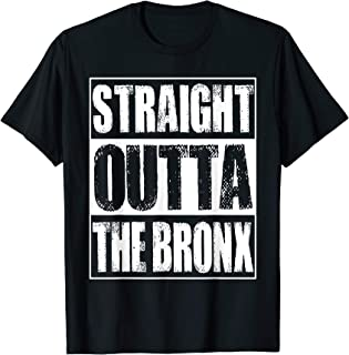 Vintage Straight Outta The Bronx Gift T-Shirt