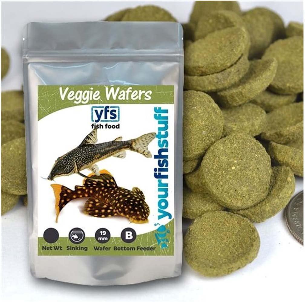 Spirulina Veggie Algae Wafers supreme Pleco Tropical Fish ! Super beauty product restock quality top! Bulk F Catfish