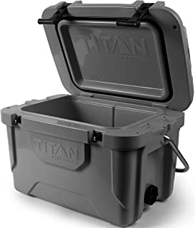Arctic Zone Titan Deep Freeze Premium Ice Chest Roto Cooler with Microban Protection - Sizes: 55Q and 20Q, Colors: Blue an...