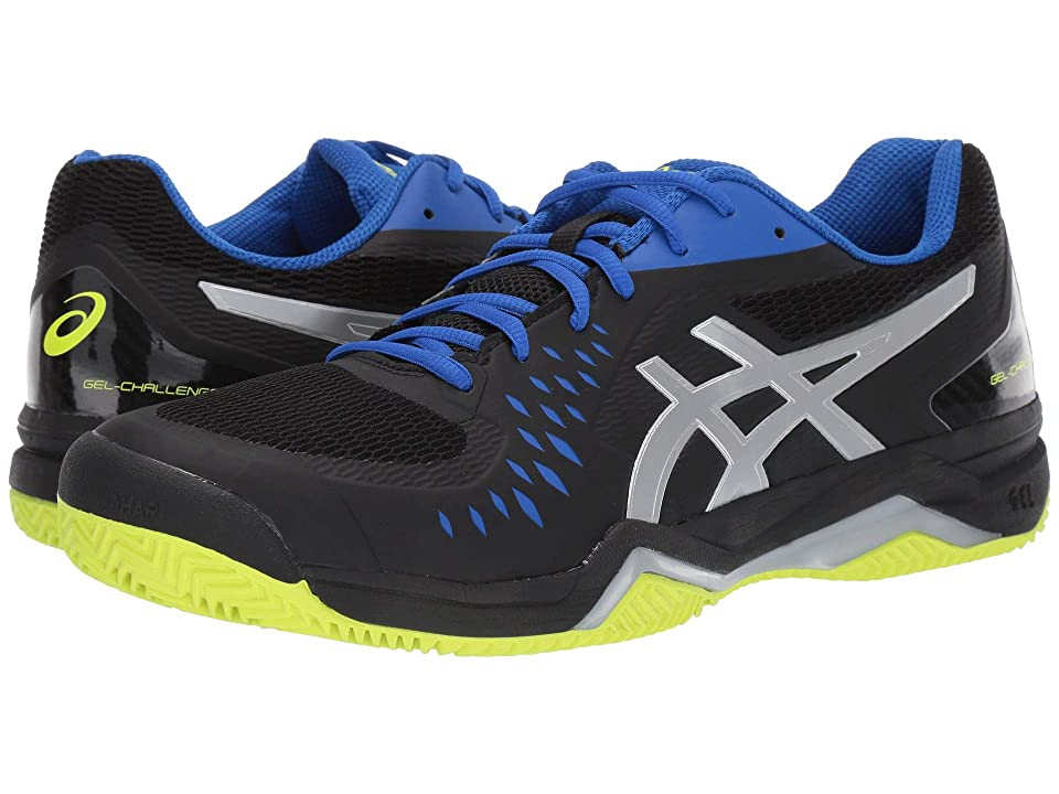e0547443868 ASICS Gel-Challenger 12 Clay (Black/Silver) Men's Tennis Shoes