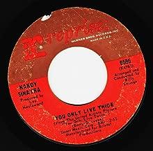 you only live twice / jackson 45 rpm single