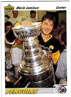 1991-92 Upper Deck Pittsburgh Penguins 1991 & 92 Stanley Cup Champs Team Set with 3 Jaromir Jagr & 3 Mario Lemieux - 25 NHL Cards