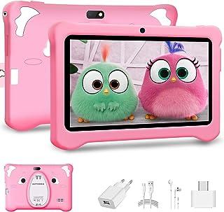 Android 10.0 Tablet para Niños, 7 Pulgadas IPS Pantalla 3GB RAM y 32GB ROM y 128GB Expansión Tableta PC Infantil WiFi Blue...