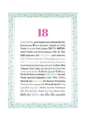 Zum 18 geburtstagsgeschenk Kreative Geschenke