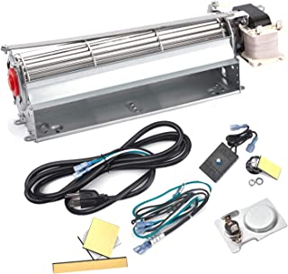 BBQ-Element GFK4 GFK4A FK4 Replacement Fireplace Blower Fan Kit for Heatilator Majestic Temco Lennox Fireplaces, Rotom HB-RB74K, R7-RB74K