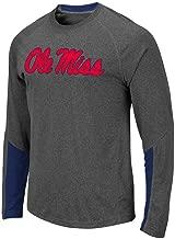 Colosseum Mens Ole Miss Rebels Brisbane Long Sleeve Tee Shirt
