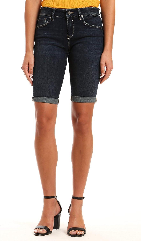Mavi Women's Karly Mid Rise Bermuda Shorts