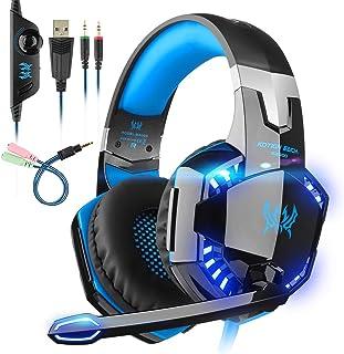 Auriculares Gaming con microfono, Cascos Gaming, Auriculares