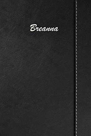 Breanna: Personalized Comprehensive Garden Notebook with Garden Record Diary, Garden Plan Worksheet, Monthly or Seasonal Planting Planner, Expenses, Chore List, Highlights Simulated Leather