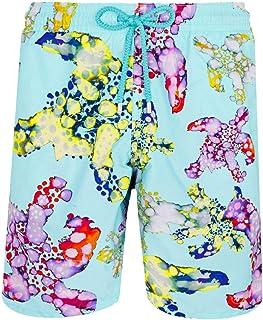 1208272954 Vilebrequin - Men - Swimwear Long Watercolor Turtles