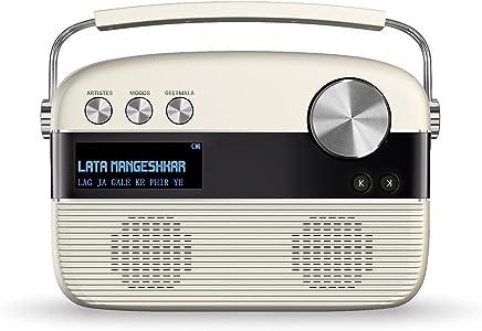 Saregama Carvaan Hindi SKU-R20008 Portable Digital Music Player (Porcelain White)