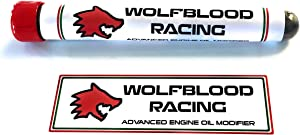Wolfblood Racing Advanced Engine Oil Modifier  Motor racing and high performance engine and gearbox oil additive  treats litres