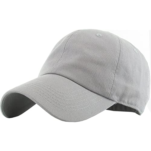 b22358deef7 KBETHOS Classic Polo Style Baseball Cap All Cotton Made Adjustable Fits Men  Women Low Profile Black