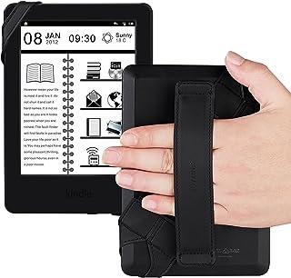 """حامل حزام يد للتابلت العام، مقبض جلدي دوار 360 درجة من جويلينك مع حزام مطاطي، آمن وقابل للحمل لأجهزة تابلت 6""""-7"""" (Amazon F..."""