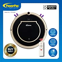 POWERPAC PPV3200 Smart Robotic Vacuum Cleaner with Automatic Return And Mob & Dry Options
