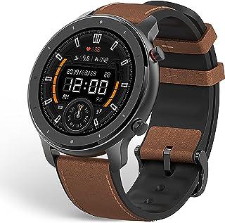 Amazfit smartwatch GTR 47 mm, dotykowy wyświetlacz 1,39 cala, sportowy zegarek fitness, wodoszczelny stoper z GPS, krokomi...