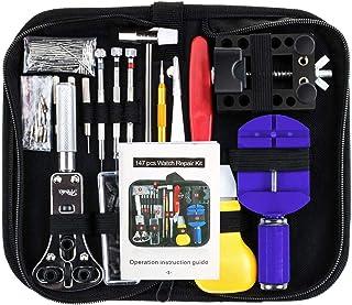 Vastar Watch Repair Kit Professional Spring Bar Tool Set, Watch Band Link Pin Tool Set..