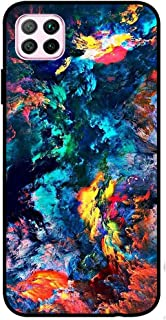 Theodor Protective Case Cover For Huawei Nova 7i Water Colour Silicon Cover