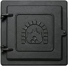 Minuteman International Cast Iron Clean-Out Door, 8 by 8-Inch