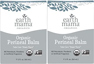 Earth Mama Organic Perineal Balm by | Naturally Cooling Herbal Salve for Pregnancy and Postpartum Relief, 2-Fluid Ounce (2...
