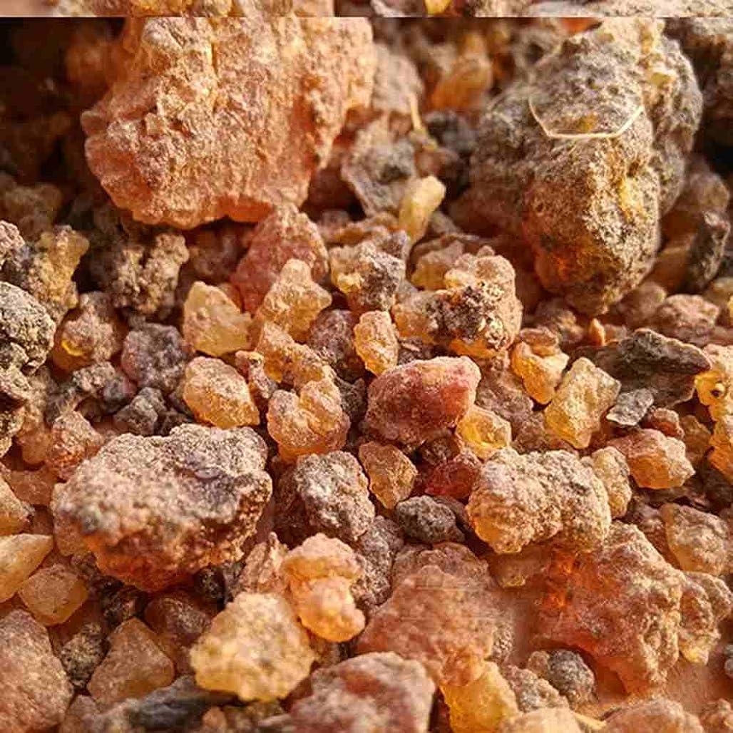 コート安心満了ミルラ樹脂 – 100%純オーガニック乳香樹脂 – 有機没薬 – 0.22ポンド(100 g)Kenya Myrrh Resin – Earthwise Aromatics
