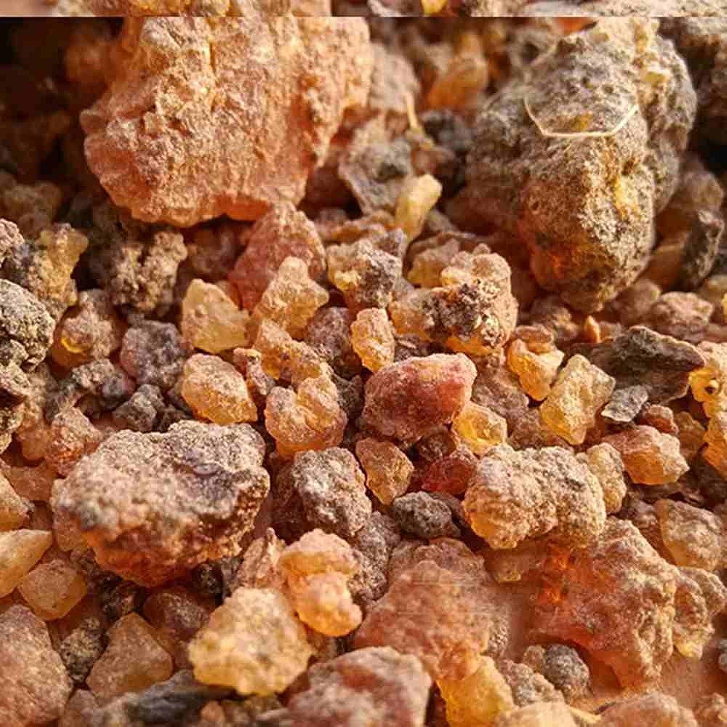 かもしれない回転自動車ミルラ樹脂 – 100%純オーガニック乳香樹脂 – 有機没薬 – 0.22ポンド(100 g)Kenya Myrrh Resin – Earthwise Aromatics