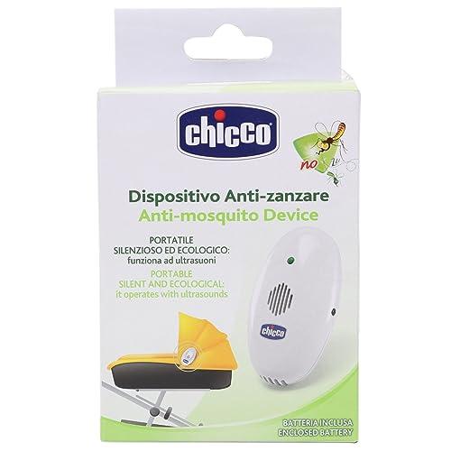 Chicco Appareil Anti Moustiques Portable à Ultrason Blanc
