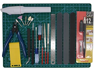 Gundam Modeler Builder's Tools Craft Set Kit 16 PCS For Professional Bendai Hobby Model Assemble Building