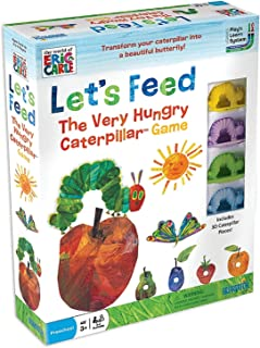 University Games 1253 The World of Eric Carle Let's Feed The Very Hungry Catepillar Game, Limited Edition