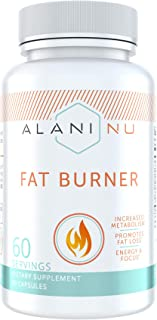 Alani Nu Premium Fat Burner Supplement, Metabolism Booster and Appetite Suppressant, 30 Day Supply