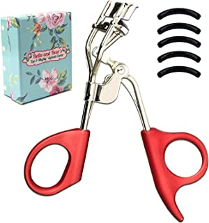 Bella and Bear Eyelash Curlers - Your new Lash Curlers include a free storage bag & refill pad, curl and shape your eyelashes without pinching or pulling