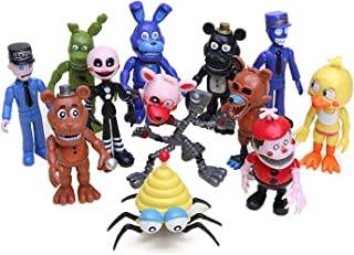 Lev Set of 12 pcs Five Nights at Freddy's Action Figures Toys Dolls, 4 inches