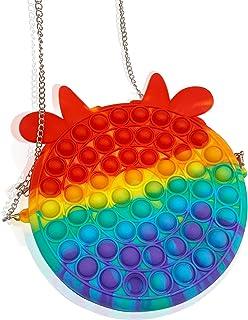 Push Bubble Sensory Zappeln Spielzeug Tasche,Push Bubbles Handtasche,Fidget Toys Sensory Fidget Tasche,Stress- Und Angstli...