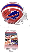 thurman thomas signed mini helmet