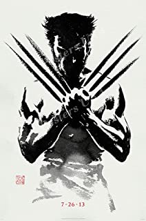 Posters USA - Marvel The Wolverine X-Men Origins Textless Movie Poster GLOSSY FINISH - FIL313 (24