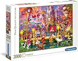Clementoni Puzzle High Quality Collection The Circus 2000 Pieces, multicolor, 32562, 6800000263