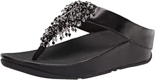 FitFlop Rumba Beaded Toe-Post Sandals womens Sandal
