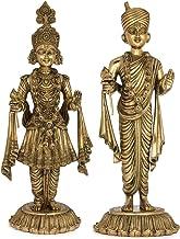 Akshar Purushottam - Swaminarayan - Brass Statue