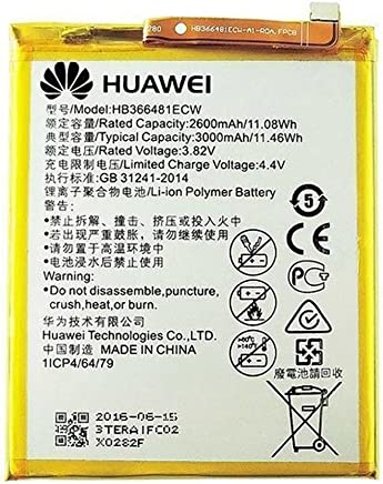 HUAWEI MLTrade - Bateria Original HB366481ECW para P9, P9 Lite, P20 Lite, P8 Lite 2017 P Smart, Bulk