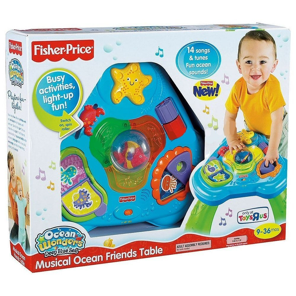 Fisher-Price Ocean Wonders Sea Table Sights Sounds SALENEW very popular Max 55% OFF