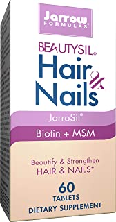 Sponsored Ad - Jarrow Formulas BeautySil Hair & Nails, Supports The Structure and Health of Hair & Nails*, 60 Tablets