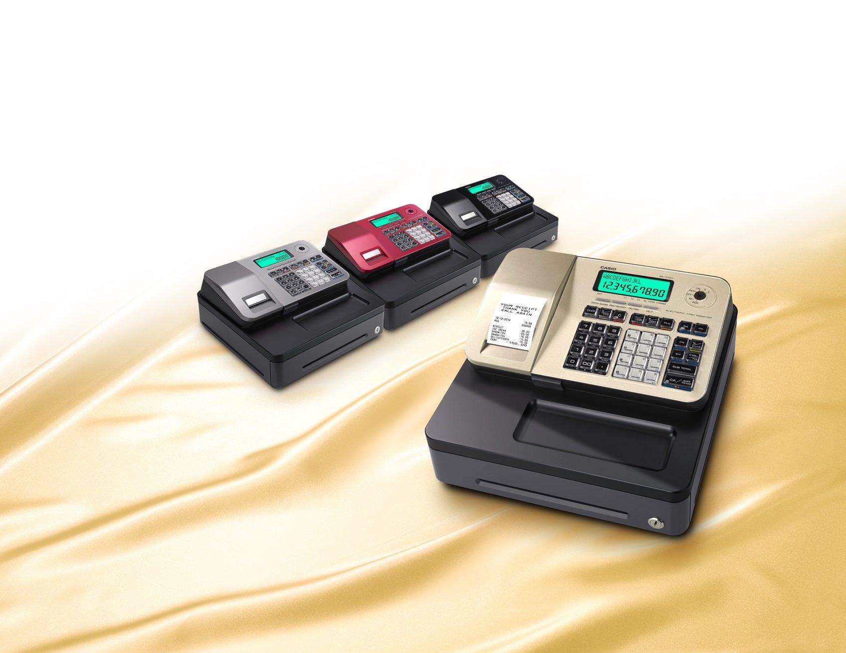 Casio SE-S100SB SR FIS GDPdU a habilitar caja registradora ...